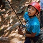Learning to Belay with a Back-up of course!