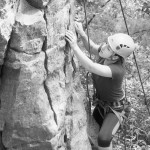 Megan Climbs at the Pantry