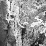 Megan Rock Climbs to the top at the Pantry