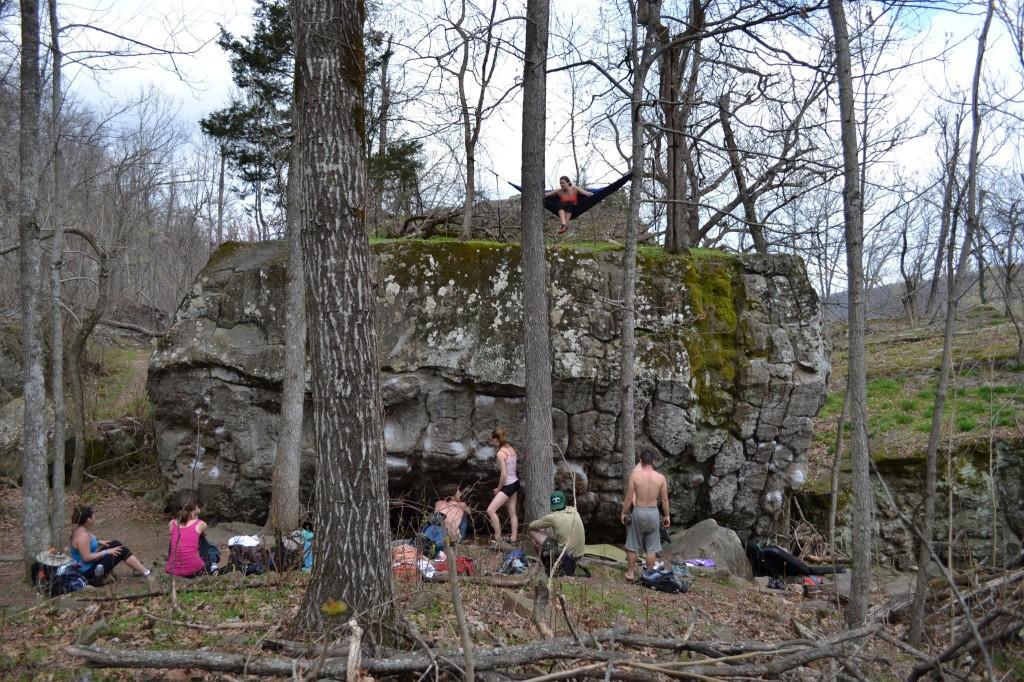 bouldering 4
