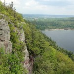 The beautiful Devils Lake State Park
