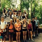 Arrowhead students ready to climb